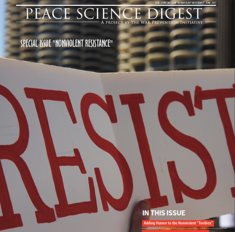 Special Issue: Nonviolent Resistance