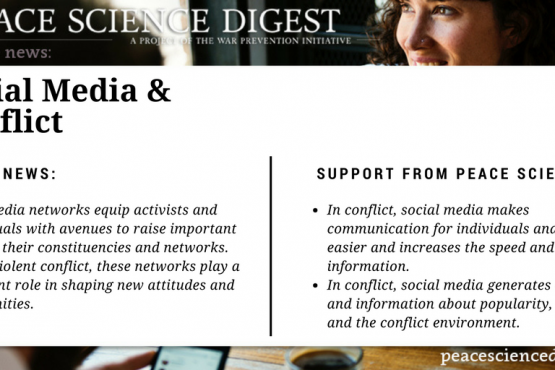 Social Media and Conflict