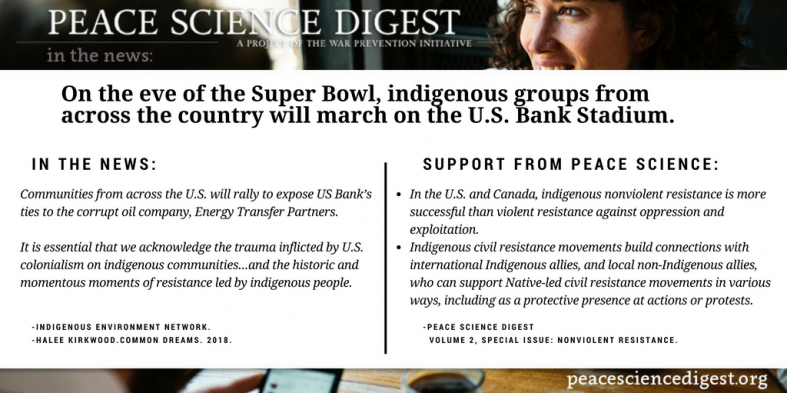 Nonviolent Resistance in Indigenous Communities