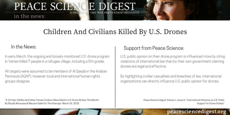 Children, Civilians Killed By U.S. Drones