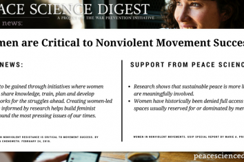 Women Are Critical to Nonviolent Movement Success