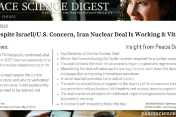 Despite Israeli/U.S. Concern, The Iran Nuclear Deal Is Working & Vital