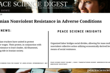 Iranian Nonviolent Resistance in Adverse Conditions