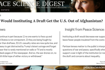 Would Instituting A Draft Get the U.S. Out of Afghanistan?