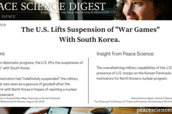 "The U.S. Lifts Suspension of ""War Games"" With South Korea"