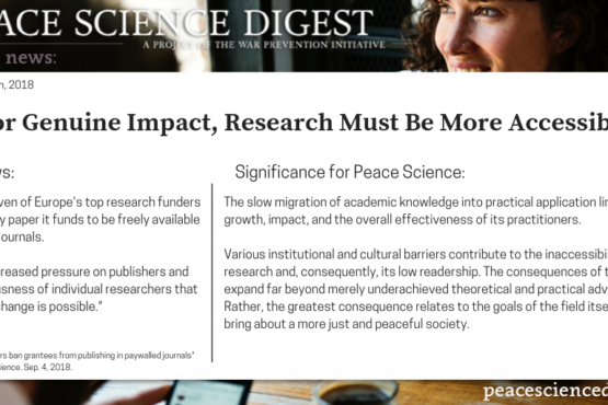 For Genuine Impact, Research Must Be More Accessible