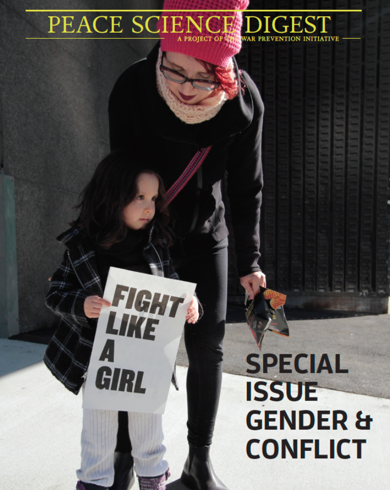 Special Issue: Gender & Conflict
