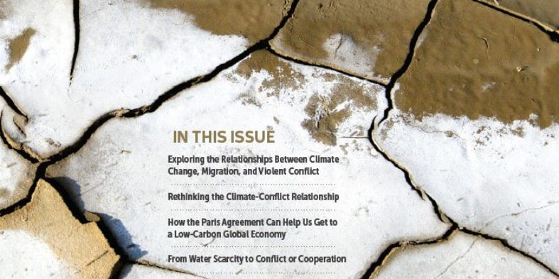 Volume 3, Special Issue: Climate Change, Security, and Conflict