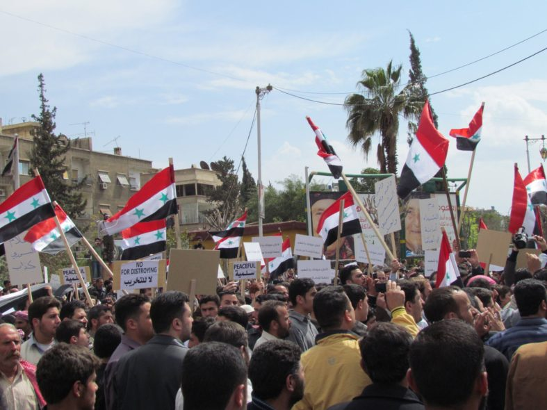 What Accounts for the Shift from Nonviolent to Violent Resistance in the Syrian Uprising?