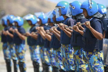Presence of UN Police Associated With Nonviolent Protests in Post-Civil War Countries