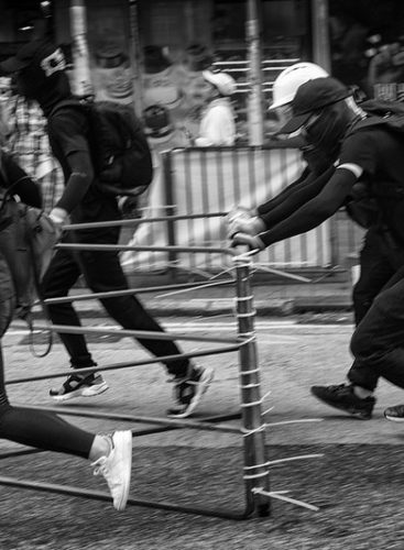 Why Do Some Protests Escalate to Violence?