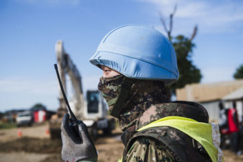 Does Increasing the Number of UN Peacekeepers Prevent Forced Displacement?
